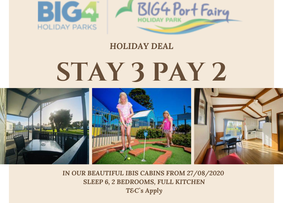 IBIS 6 Berth Cabin Stay 3 Pay 2 Deal